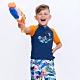 澳洲Sunseeker泳裝抗UV防曬短袖泳衣-大男童上衣/橘4181015ORA product thumbnail 1