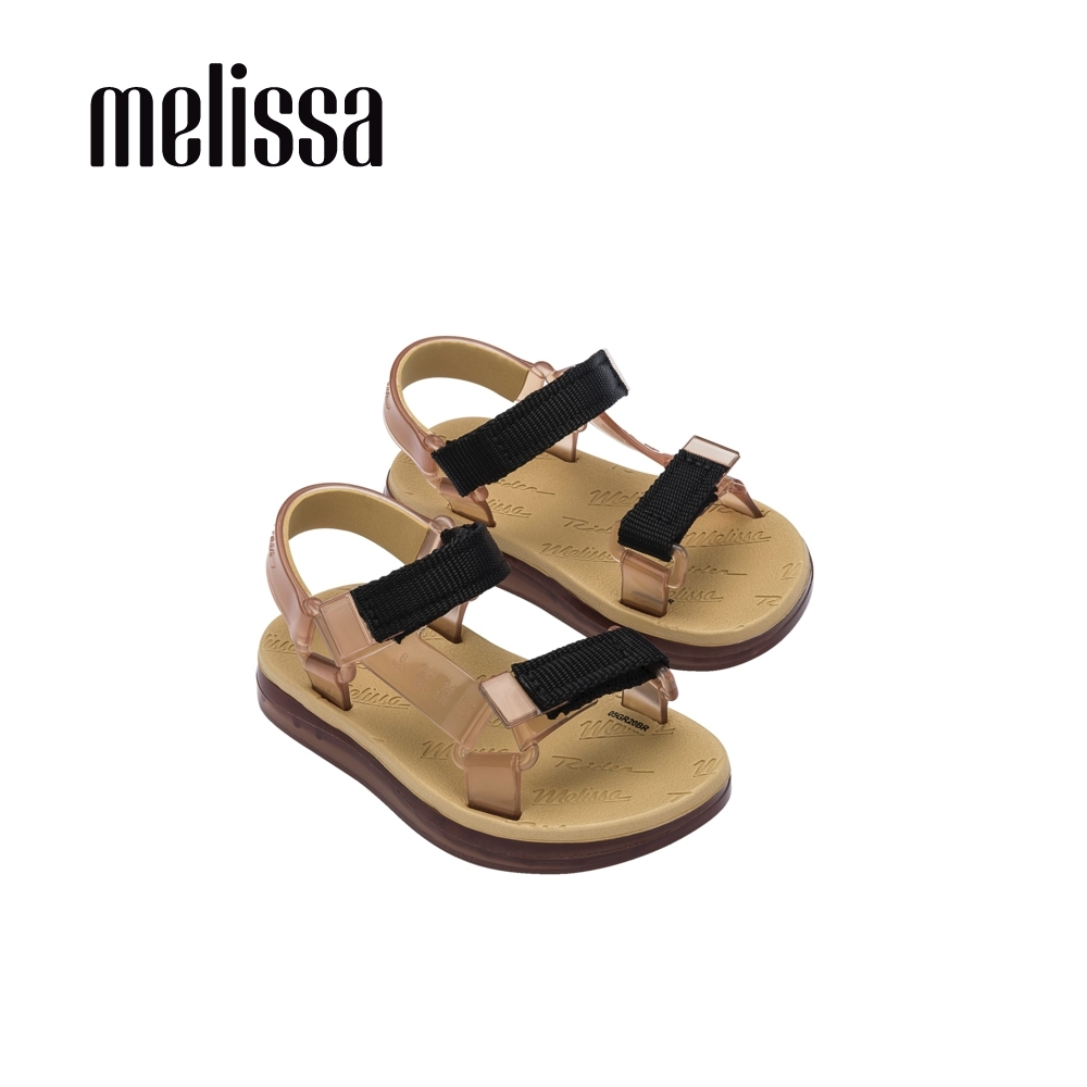 Melissa x Rider Good Time潮流休閒涼鞋 寶寶款-卡其/褐