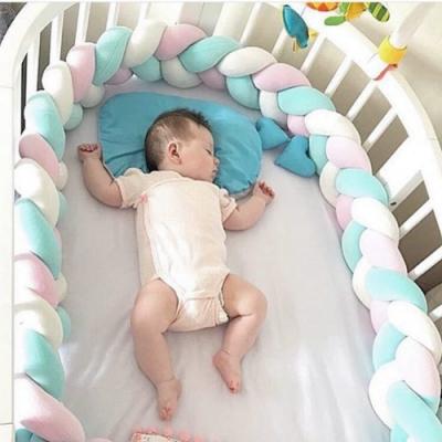 Kori Deer 可莉鹿 北歐風編織長條多用途安撫枕嬰兒防撞圍欄 抱枕沙發枕創意兒童嬰兒房裝飾