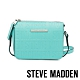 STEVE MADDEN-BCUBA 品牌壓紋拉鍊側背斜背包-Tiffany藍 product thumbnail 1