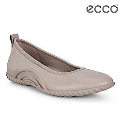 ECCO VIBRATION 1.0 活力運動風套入式休閒鞋 女-霧灰粉