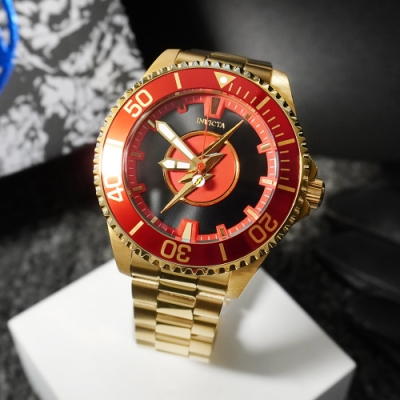INVICTA 英威塔 DC正義聯盟限定版 (閃電俠)-機械錶