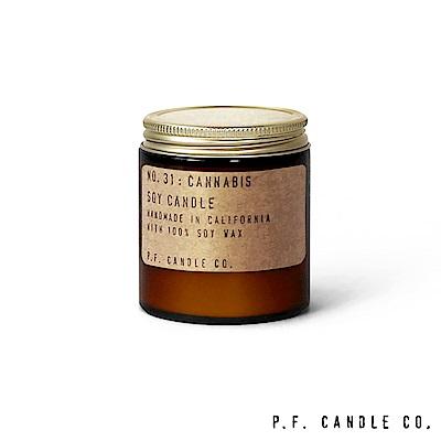 美國 P.F. Candles CO. No.31 麻花香根草 香氛蠟燭 99g