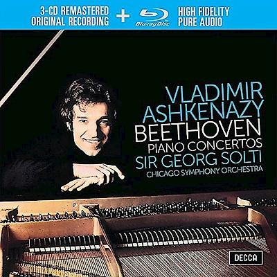 貝多芬/鋼琴協奏曲全集(4CD)