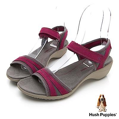 Hush Puppies ATHOS 機能涼鞋-珊瑚紅