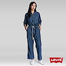 Levis 女款 連身工作褲 Orta 歐洲頂級丹寧 拉鍊穿脫 腰間織帶