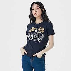 101原創 短袖T恤-紐約燦爛夜景-男女適穿