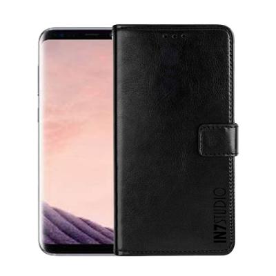 IN7 瘋馬紋 Samsung S8+/S8 Plus (6.2吋) 錢包式 磁扣側掀PU皮套 吊飾孔 手機皮套保護殼