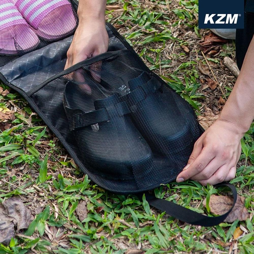 KZM 彩繪民族風鞋子收納袋