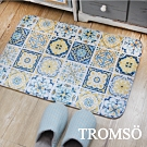 TROMSO簡單生活超柔軟地墊-M109橘韻花磚