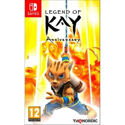 凱之傳奇 紀念版 Legend of Kay Anniversary  - NS Switch 英文歐版