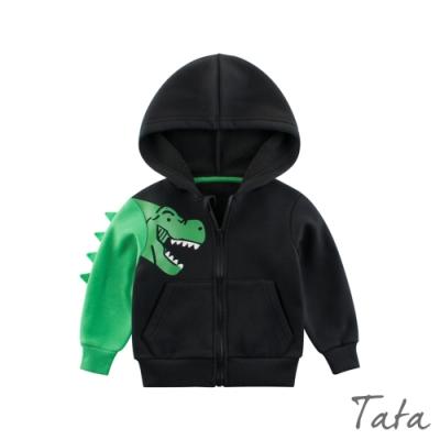 童裝 立體恐龍印花連帽外套 TATA KIDS