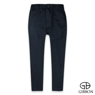 GIBBON 保暖極細刷毛彈力鬆緊長褲-二色
