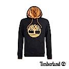 Timberland 男款黑色連帽大樹LOGO衛衣|A1OK8