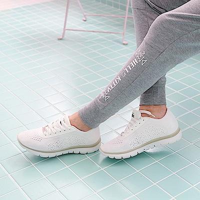 高彈迴力系列~透氣網布夜光設計運動休閒鞋.3色-OB大尺碼