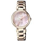 CITIZEN L系列璀璨光動能時尚腕錶(EM0533-82Y)