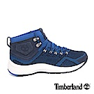 Timberland 男款FlyRoam Trail海軍藍中筒布面靴