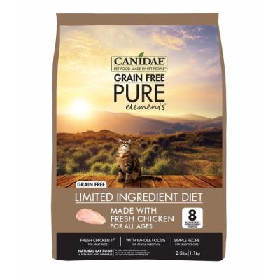 CANIDAE 無穀鮮雞貓糧 4.5kg