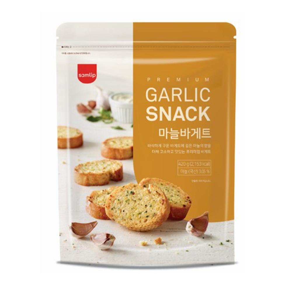 韓國Samlip 大蒜麵包餅乾(420g)