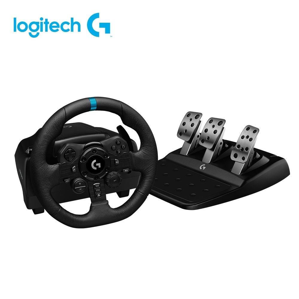羅技 G923 模擬賽車方向盤+G920排擋桿