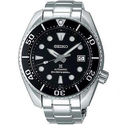 SEIKO精工PROSPEX系列相撲廣告款潛水機械錶(SPB101J1)-黑
