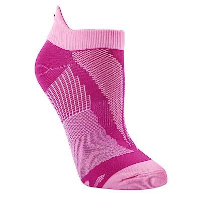 【ZEPRO】女子透氣慢跑踝襪-浪漫粉紅