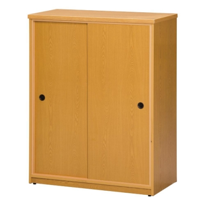 顛覆設計 防水塑鋼推門鞋櫃(六色可選)-82x41x107cm