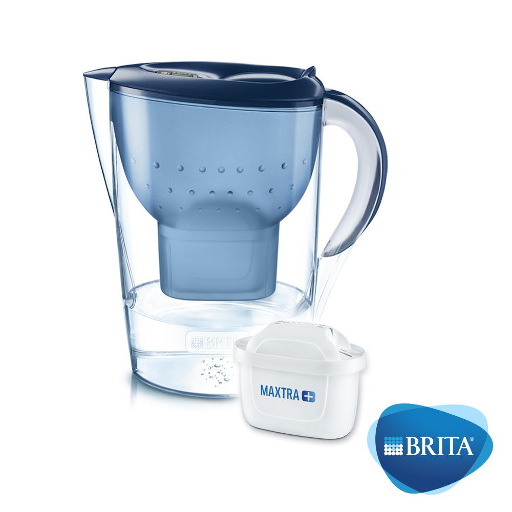 德國BRITA Marella馬利拉濾水壺+1入MAXTRA Plus濾芯(共2芯) product image 1