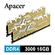 Apacer Panther Rage 金豹 DDR4 3000 16G 桌上型RGB發光電競記憶體(8GBx2) product thumbnail 1