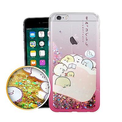 角落小夥伴 iPhone 6s Plus/ 6 Plus 5.5吋 流沙漸層手機殼(睡覺)