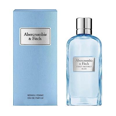 A&F Abercrombie&Fitch 湛藍女性淡香精50ml