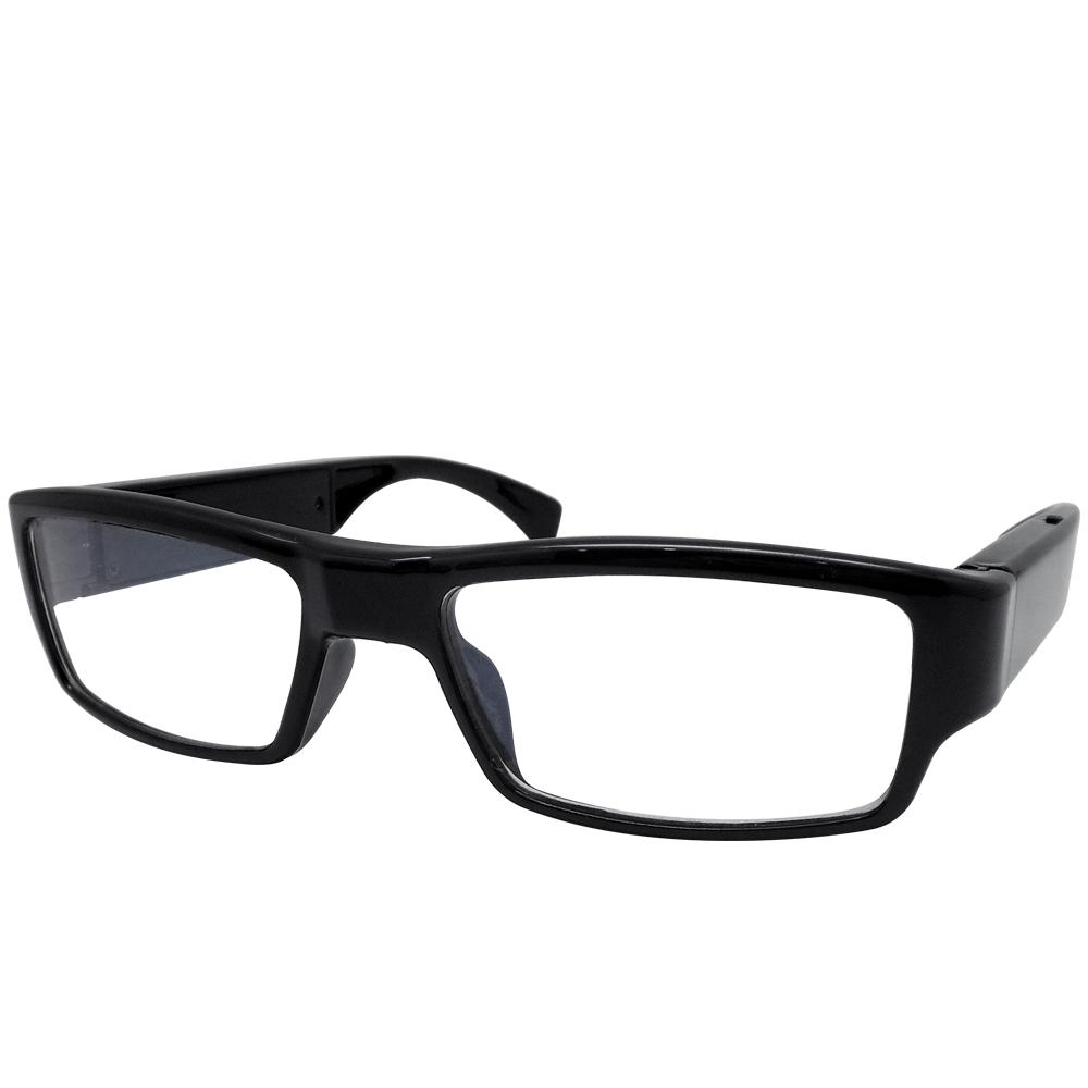 【CHICHIAU】HD 720P 時尚黑框無孔眼鏡造型微型針孔攝影機