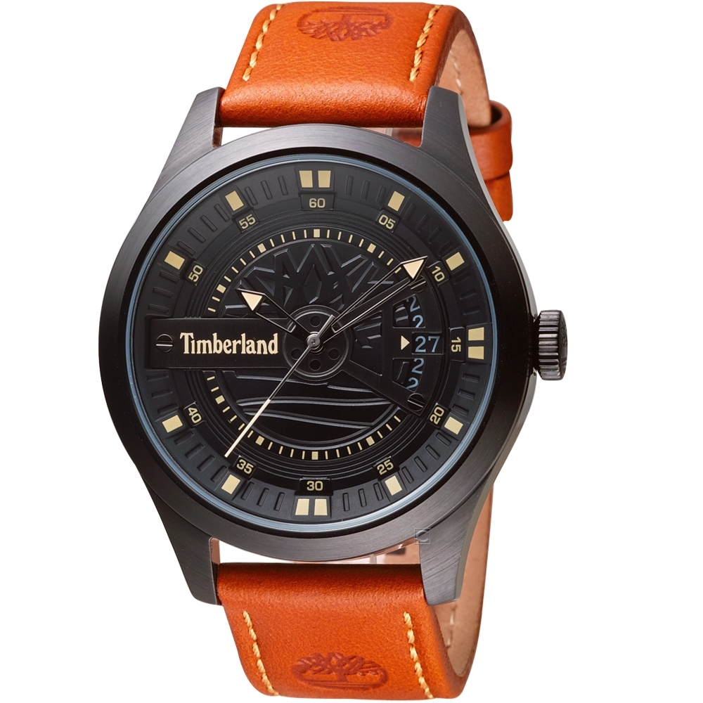 Timberland獷野時跡時尚錶(TBL.15930JSB/02)-46mm