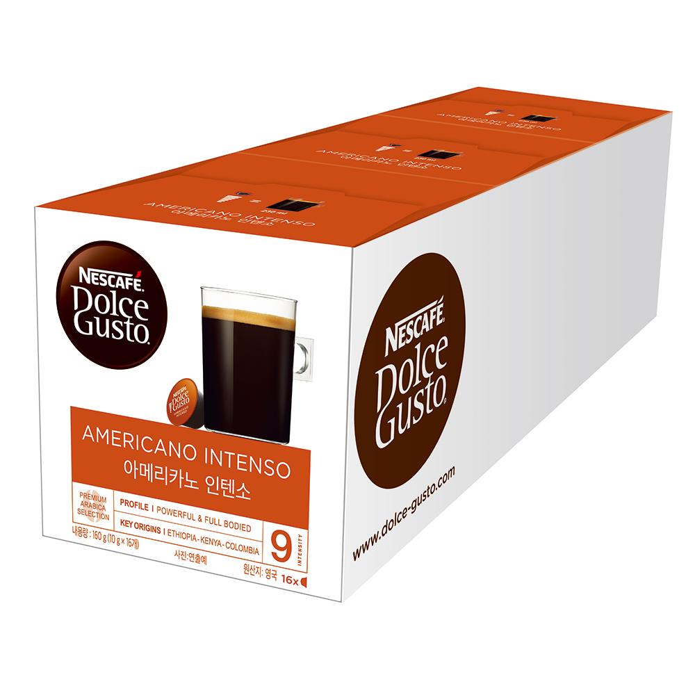 雀巢咖啡Dolce Gusto美式經典濃烈咖啡膠囊