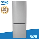 beko英國倍科 505L 深色不鏽鋼上下門變頻冰箱 TEDNV7920RX