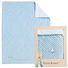 奇哥 比得兔豆趣二用蓋毯禮盒-藍色