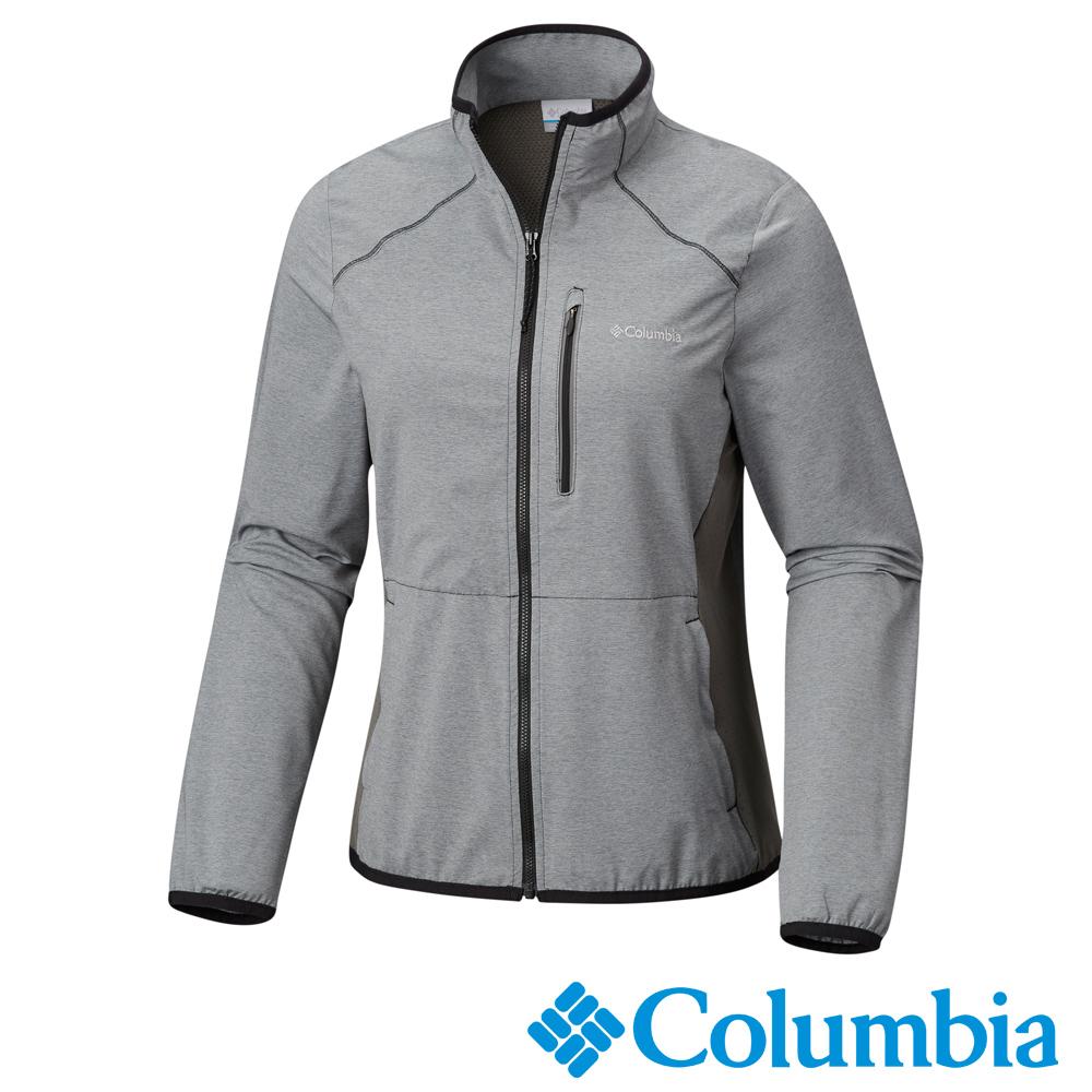 Columbia 哥倫比亞 女-快排立領風衣外套- UAR19930