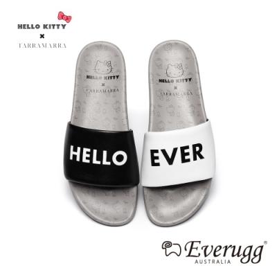 澳洲EVERUGG HELLO KITTY聯名休閒拖鞋(黑白色) N2
