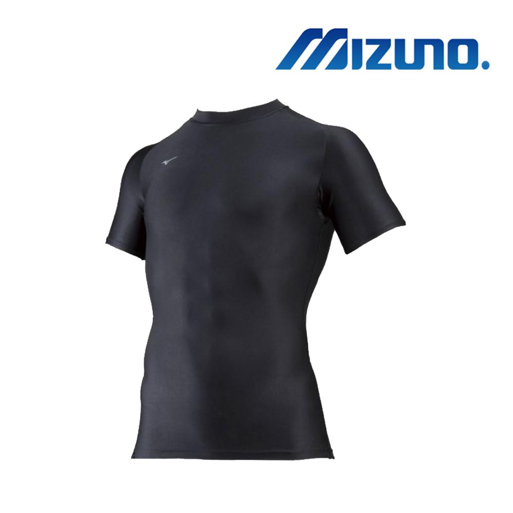 MIZUNO 美津濃 BIO GEAR 男圓領短袖緊身衣 32MA815209
