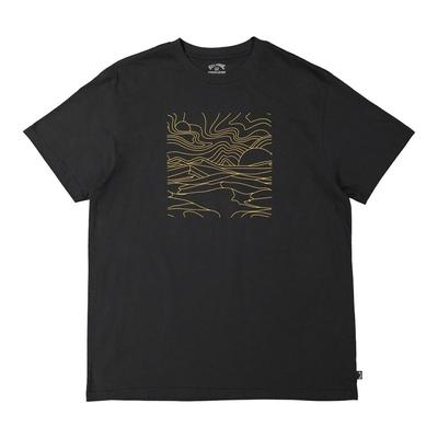 BILLABONG LINES 短袖T恤 黑-9517041BLK