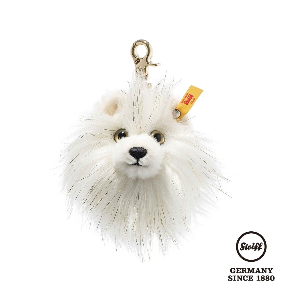 STEIFF德國金耳釦泰迪熊  PomPom Pendant 博美犬 鑰匙圈(吊飾)