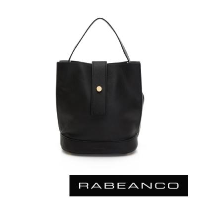 RABEANCO ARIA手提/肩背水桶包 黑