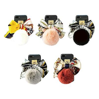 DDPOP iPhone 7 精品領巾吊飾手機防摔殼