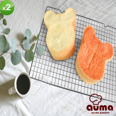 【奧瑪烘焙】熊熊生吐司(340g±3%/個)x2條