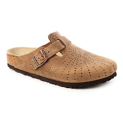 勃肯BIRKENSTOCK1009754BOSTON包頭拖鞋(煙燻咖啡)