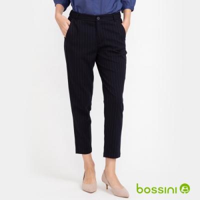 bossini女裝-彈性長褲02深藍色