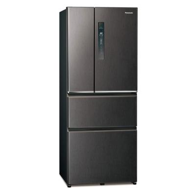 Panasonic國際牌500L四門變頻冰箱 NR-D501XV-V 絲紋黑