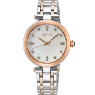 SEIKO 魅力晶鑽時尚女錶(7N01-0KT0KS SRZ534P1)