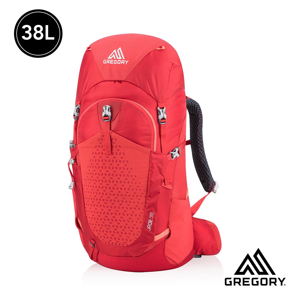 Gregory 女 38L JADE登山背包 罌粟紅 XS/S