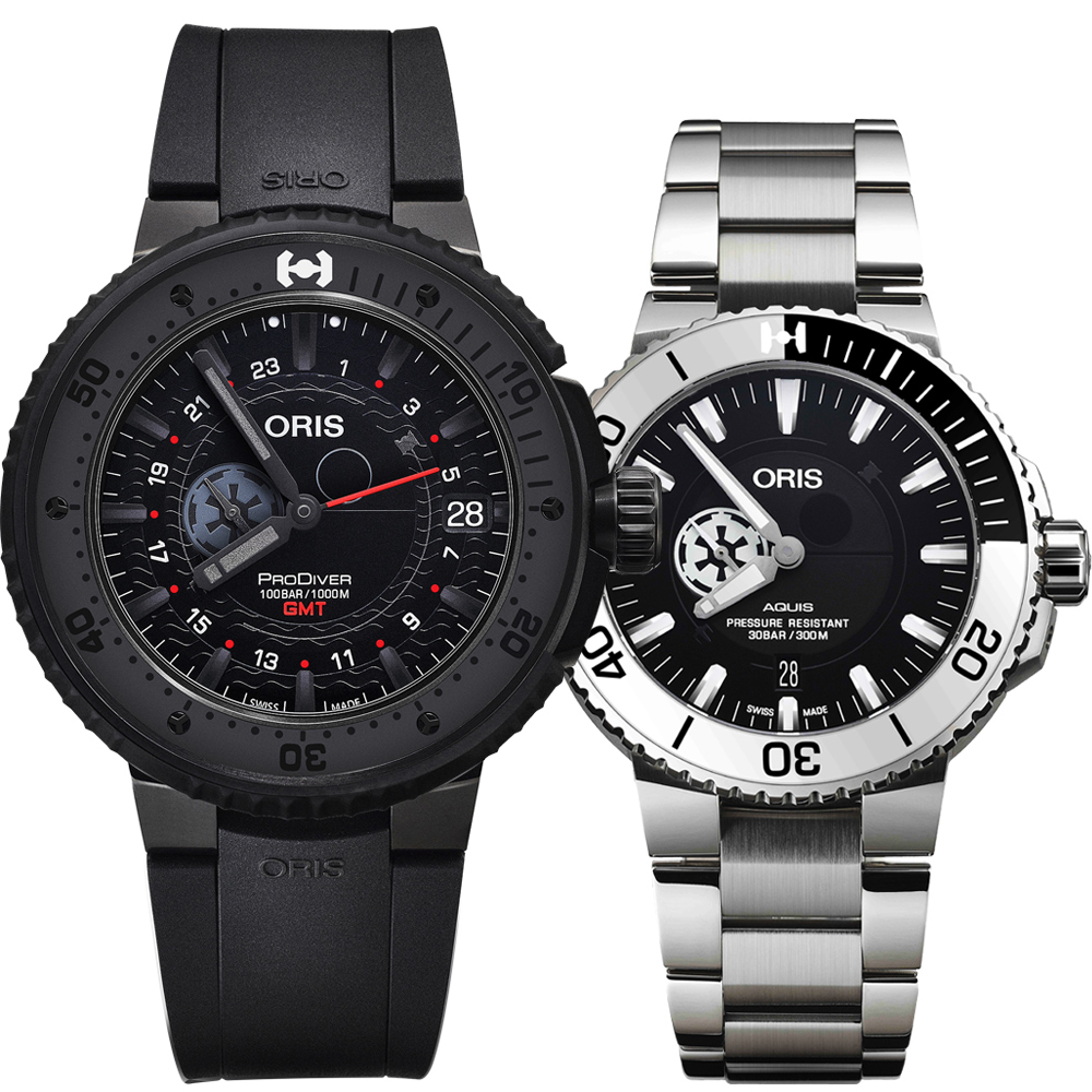 Oris 豪利時 星際大戰STAR WARS 限定聯名機械套錶